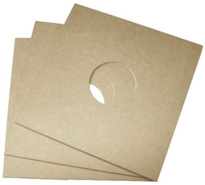 "12"" Kraft Record Jacket / Die-Cut Sleeves 10-Pack"