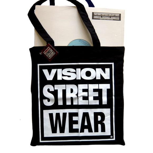 Vision Street Wear Record Tote Bag
