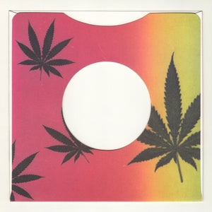 "7"" Record Weed Sleeves 5-PACK"