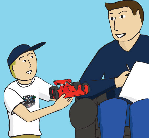 Toy drives inspiration for Indy 500 Kids' Book