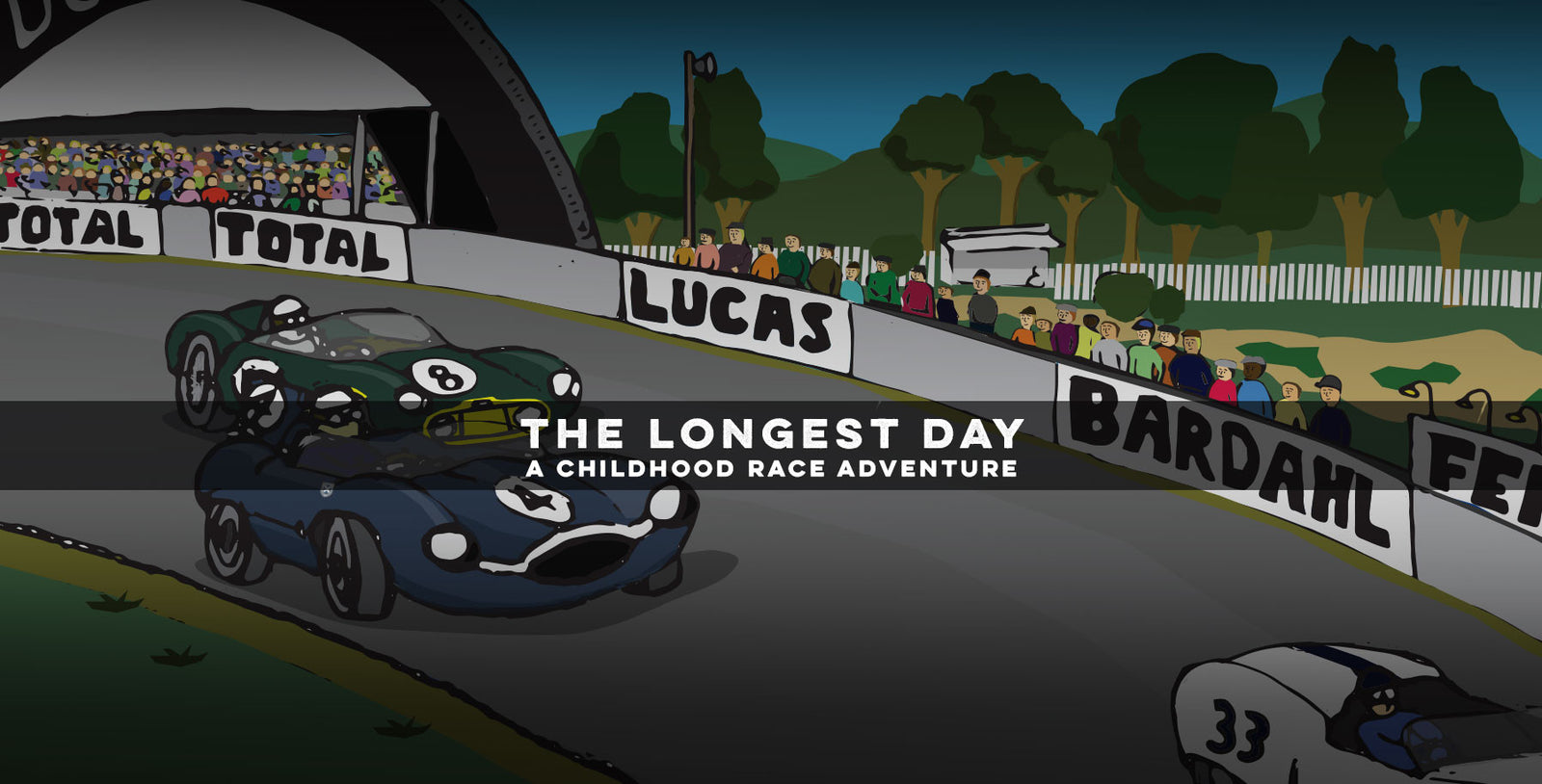 """The Longest Day - A Childhood Race Adventure"""