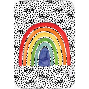 Open image in slideshow, RAINBOW #2 • SWADDLE BLANKET