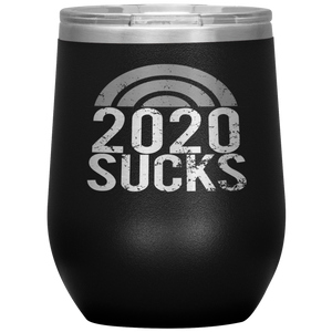 Open image in slideshow, 2020 SUCKS • WINE TUMBLER