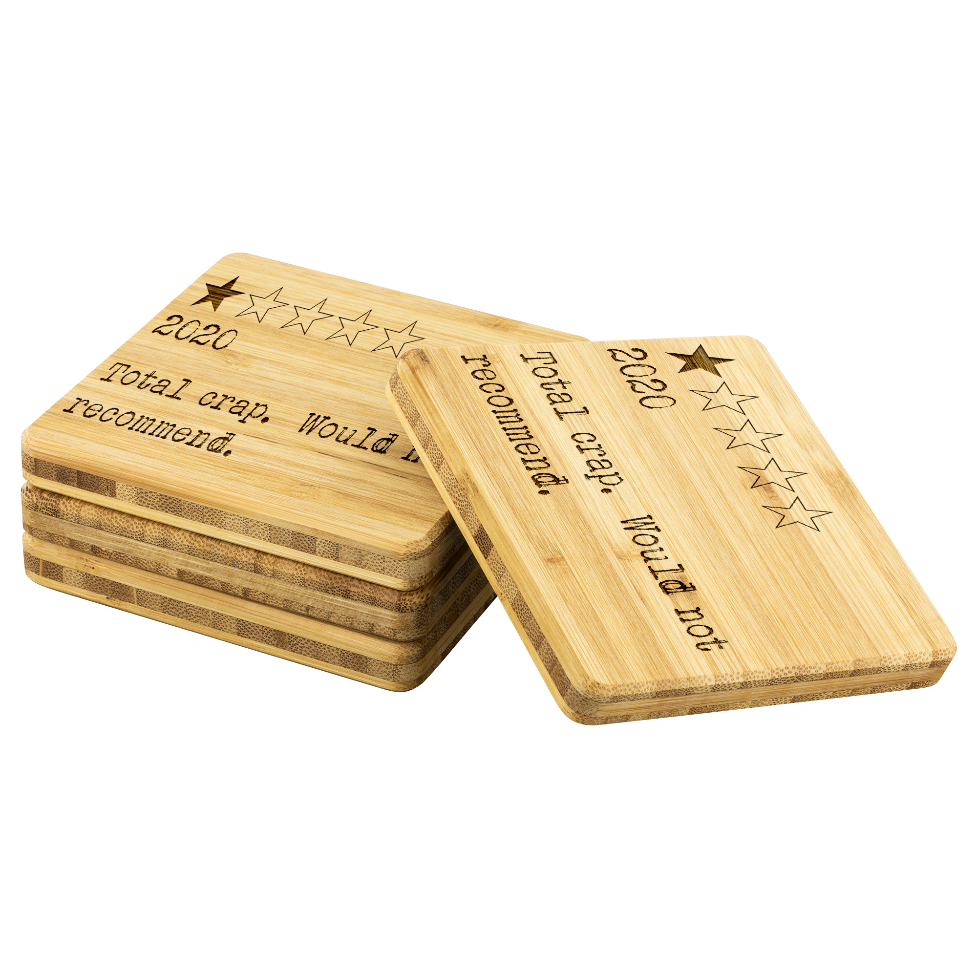 WOULD NOT RECOMMEND • BAMBOO COASTERS