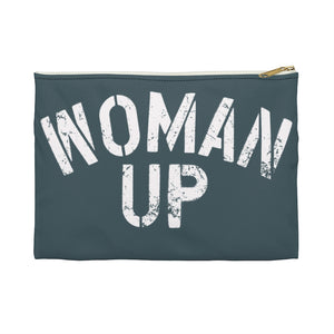 Open image in slideshow, WOMAN UP • ACCESSORY POUCH