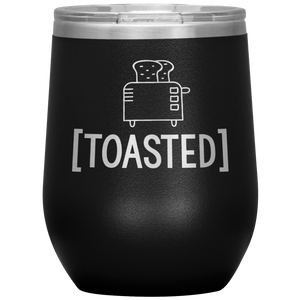 Open image in slideshow, Toasted • Wine Tumbler