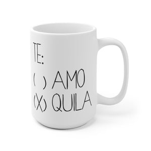 Open image in slideshow, TE AMO TEQUILA • MUG