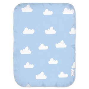 Open image in slideshow, CLOUDS #2 • SWADDLE BLANKET