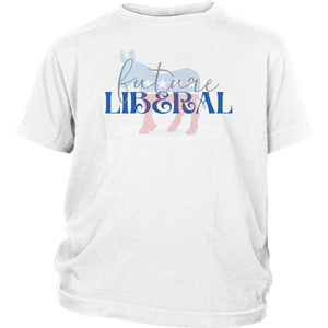 Open image in slideshow, FUTURE LIBERAL • YOUTH T-SHIRT