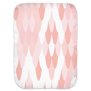 Open image in slideshow, PINK SCALES • SWADDLE BLANKET