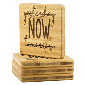 NOW • BAMBOO COASTERS