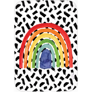 Open image in slideshow, RAINBOW #1 • SWADDLE BLANKET