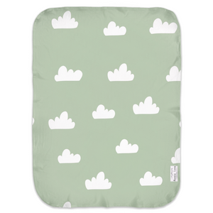Open image in slideshow, CLOUDS #4 • SWADDLE BLANKET
