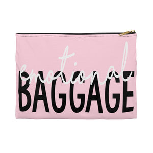 Open image in slideshow, EMOTIONAL BAGGAGE • ACCESSORY POUCH