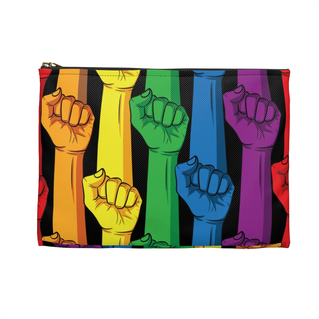 SOLIDARITY RAINBOW • ACCESSORY POUCH
