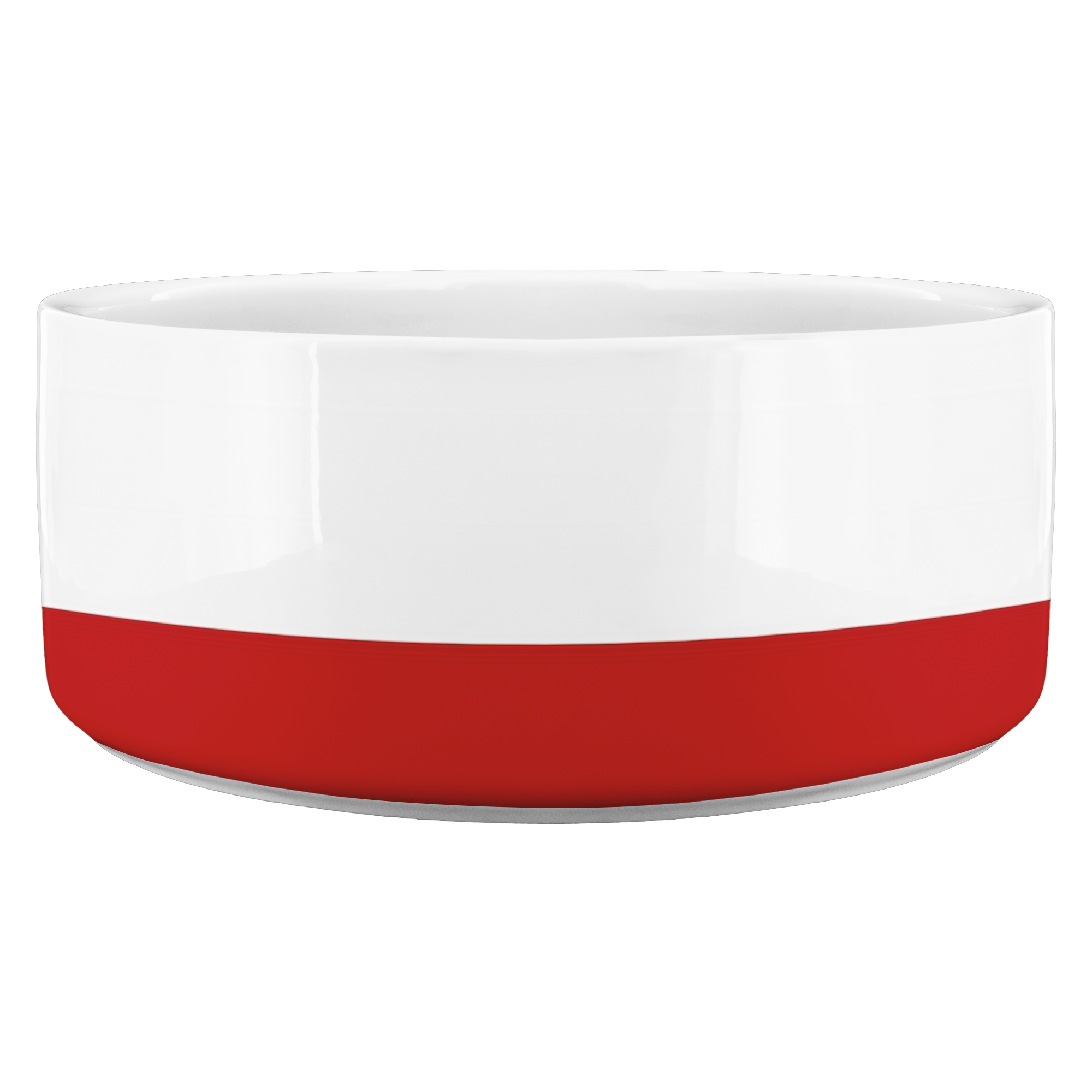 Red Stripe • Pet Bowl