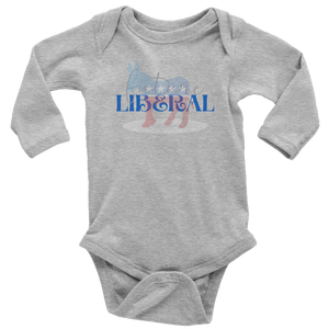 Open image in slideshow, FUTURE LIBERAL • LONG SLEEVE ONESIE