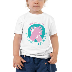 Open image in slideshow, Wash Your Hands • Toddler T-Shirt