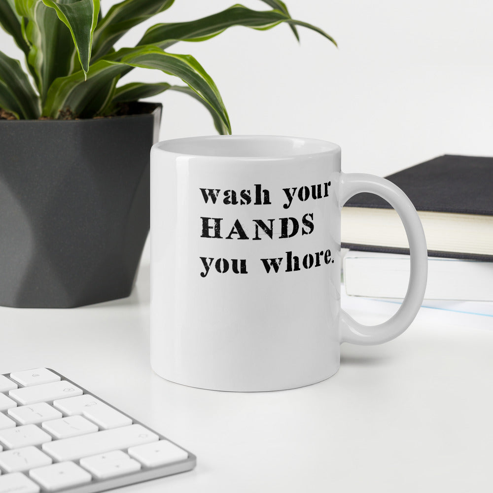 WASH YOUR HANDS • MUG