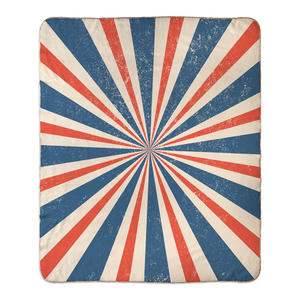 Open image in slideshow, PATRIOTIC • SHERPA BLANKET