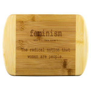 Open image in slideshow, FEMINISM • CUTTING BOARD