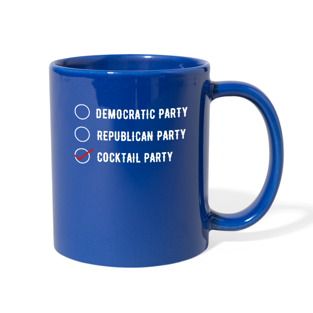 PARTY • MUG - royal blue
