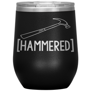 Open image in slideshow, Hammered • Wine Tumbler