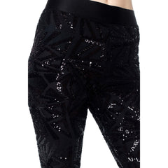 GIGI Black Sequin Leggings