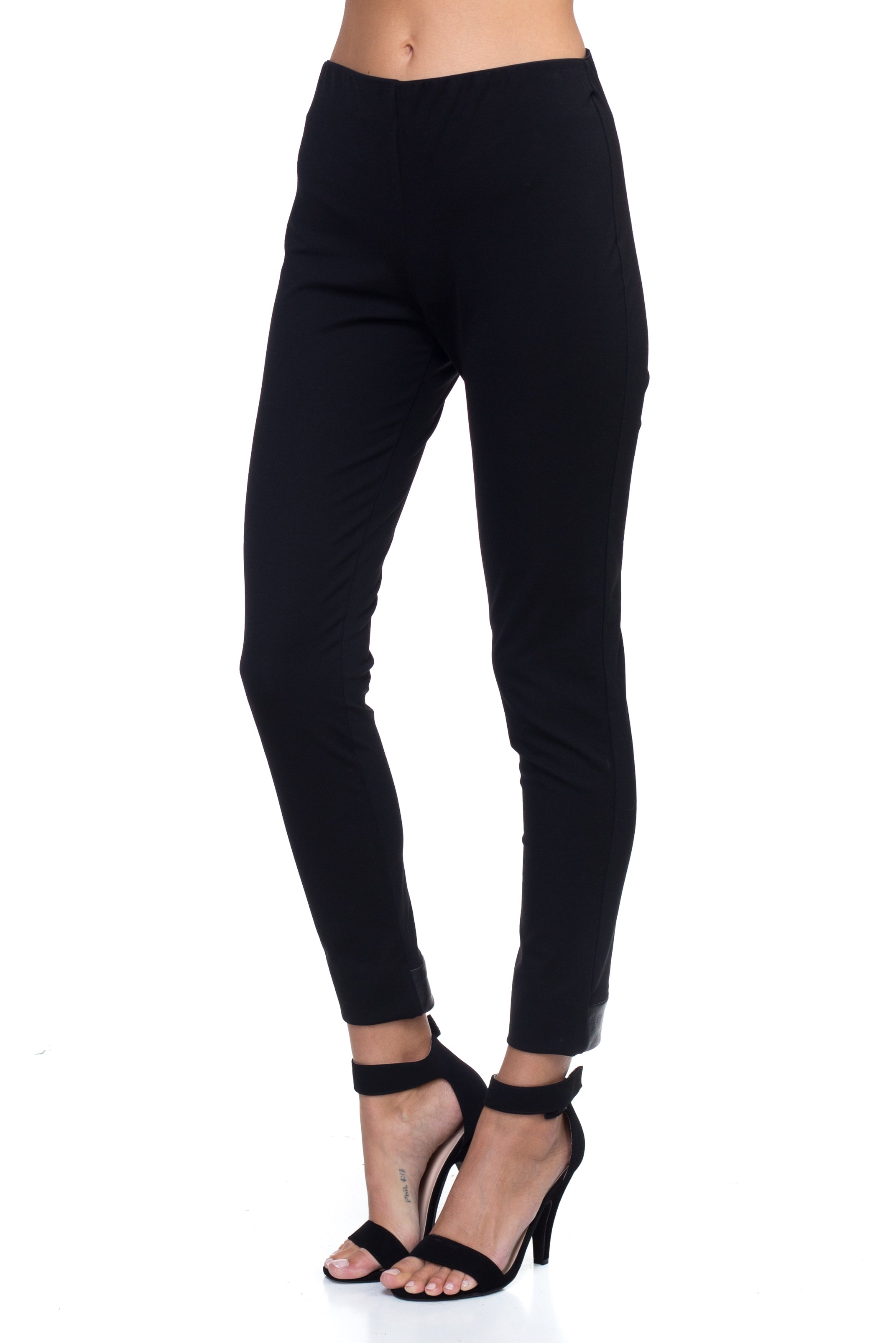 5a545916add3a Heidi - Black Formal Fitting Leggings – KAREN FALCO