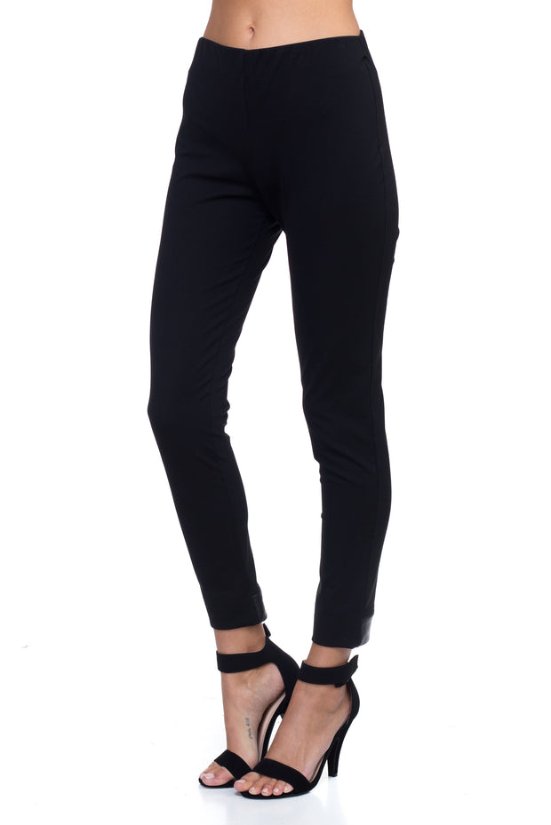 Heidi Black Formal Fitting Leggings