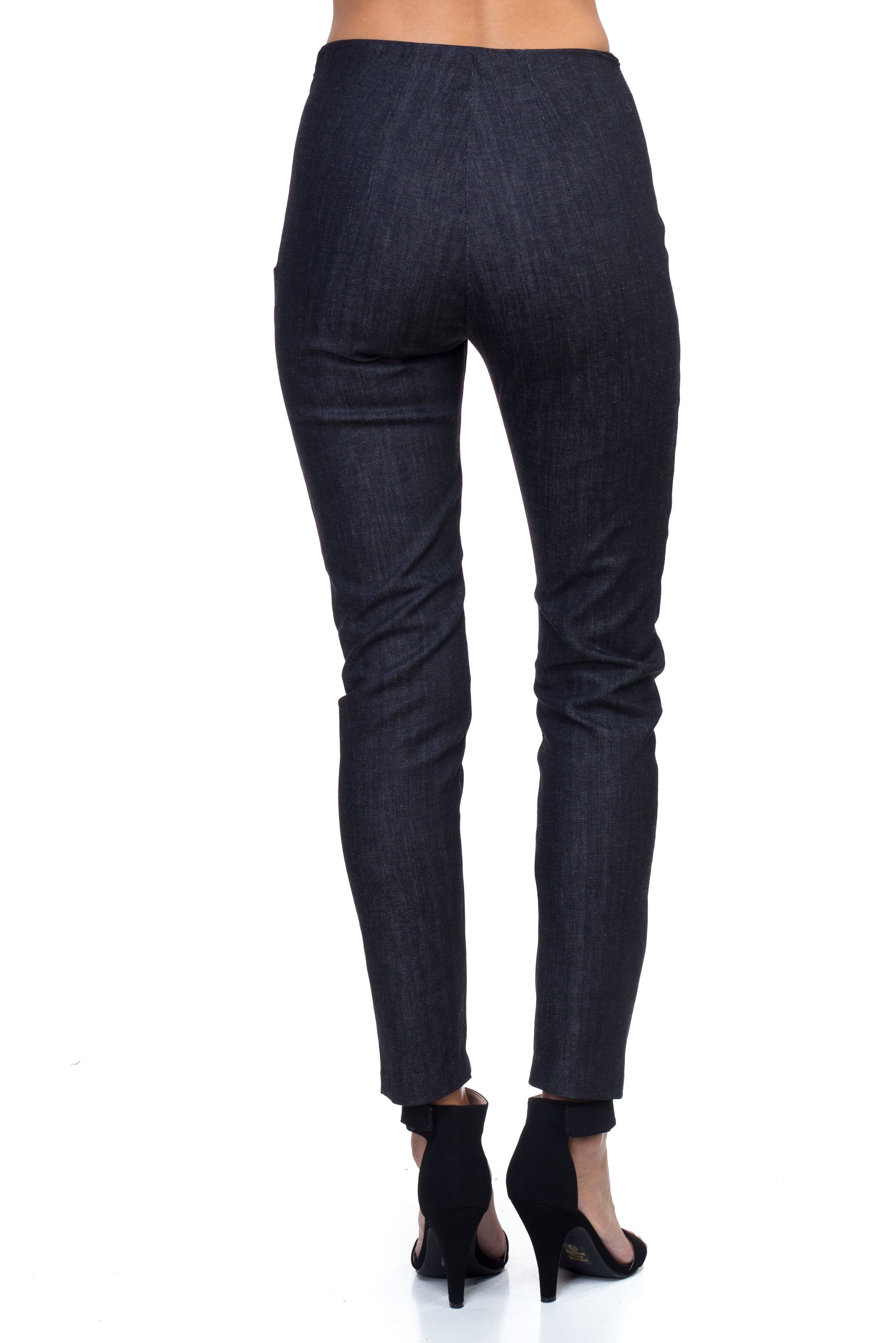 Martha - Stretch Twill Denim Pants