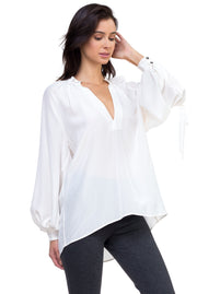 Isabella Casual Silk Blouse
