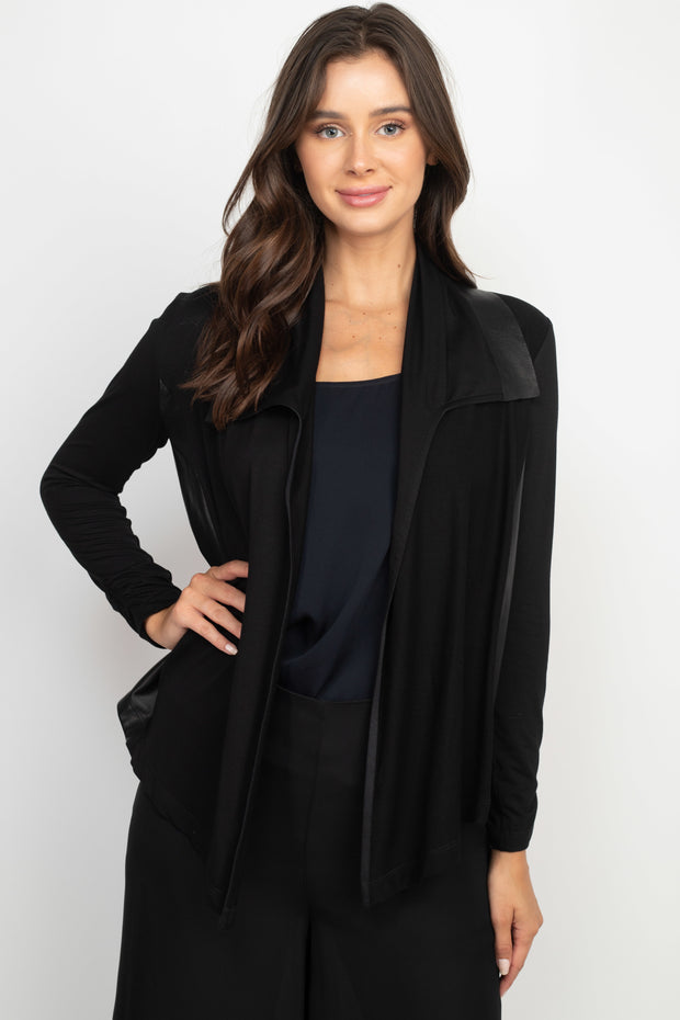 Sofia Open Front Cardigan