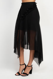 Stephanie Black Skirt