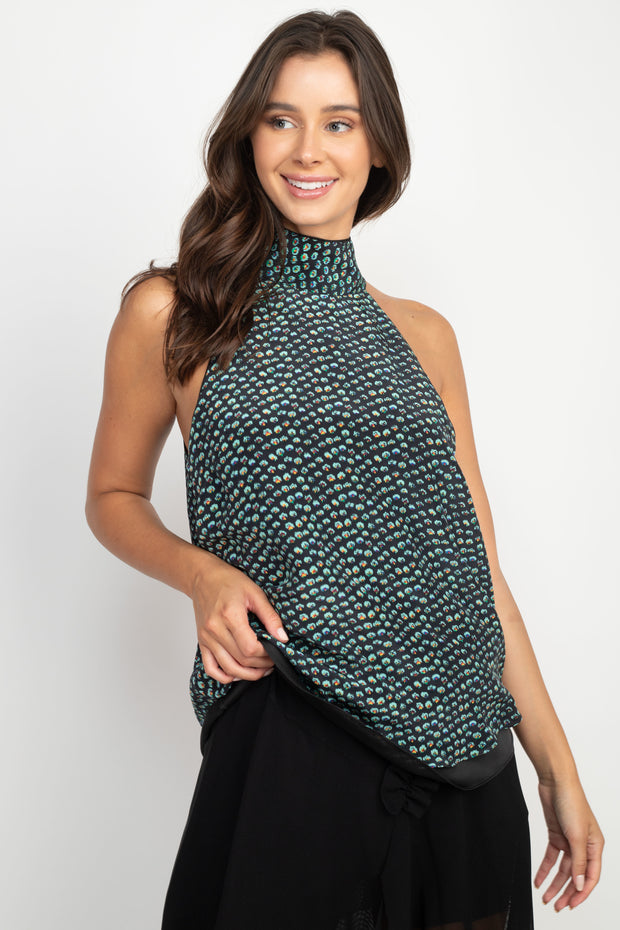 Veronica Sleeveless Silk Top