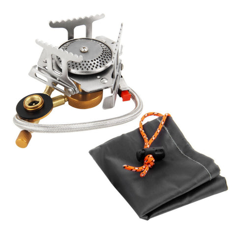 Stainless Steel Gas Stove for Lightweight Backpacking Split-Type