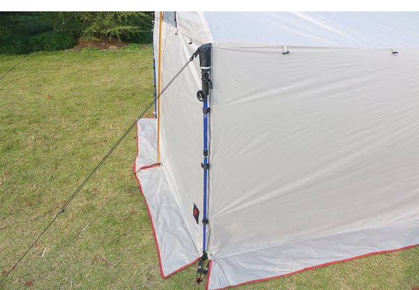 Hillman ultralight Roof-style, waterproof, 1 Room Tent for 5-8 People