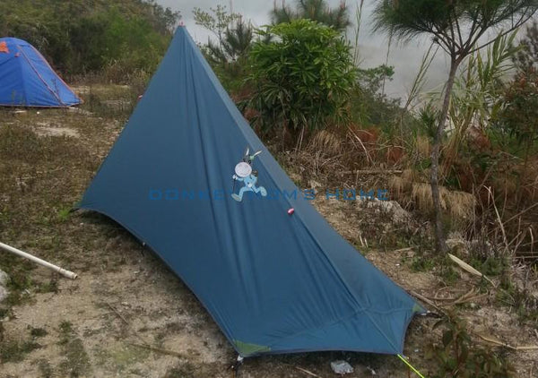 An ultralight, 3-season silnylon tent for 1-2 Persons