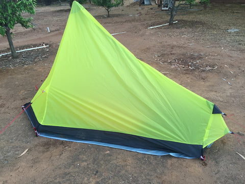 1 person 3 season Ultralight Silnylon Backpacking Tent