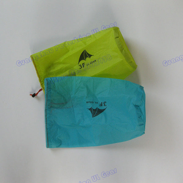 Silnylon 12.5*5.5 inch Ultra-light 16 gram 3000mm waterproof sack OFFER for camping, backpacking