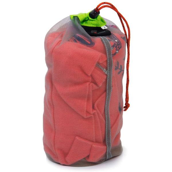 Ultralight Mesh Stuff Sack and Storage Bag for Travel and Camping