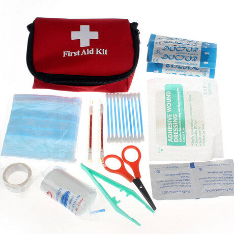 Medical Emergency First Aid Kit for Camping, Hiking, Hunting, Fishing, Backpacking, Wilderness Survival