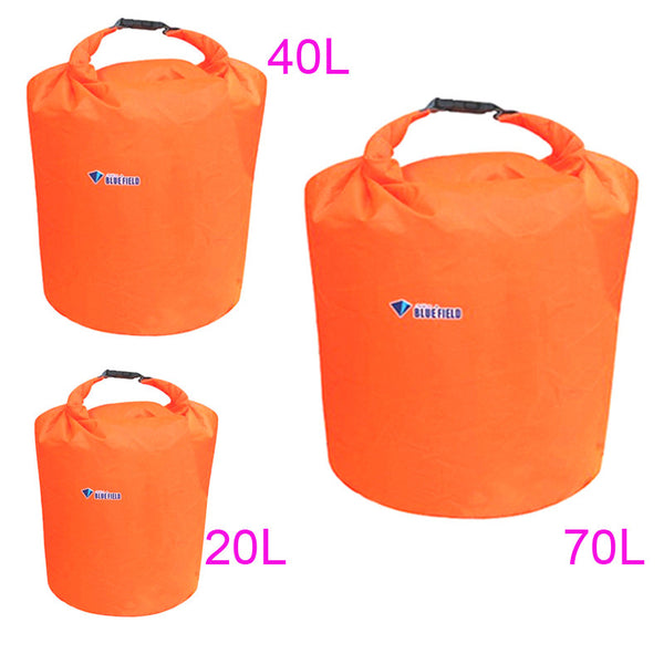 Lightweight  20L 40L 70L Waterproof Dry Bag  for Canoeing, Kayaking, Rafting, Backpacking, Camping