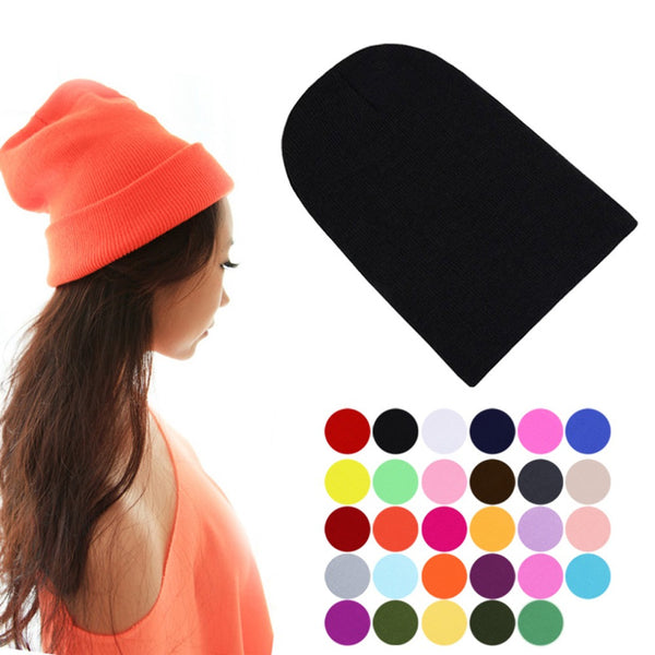 FREE ! Warm Knitted Unisex Sport and Outdoor Beanie Hat in all Colors