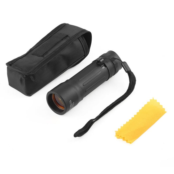 FREE Handy Compact Monocular Pocket Scope for Hiking, Camping, Hunting, Sports Fans, Concert Goers