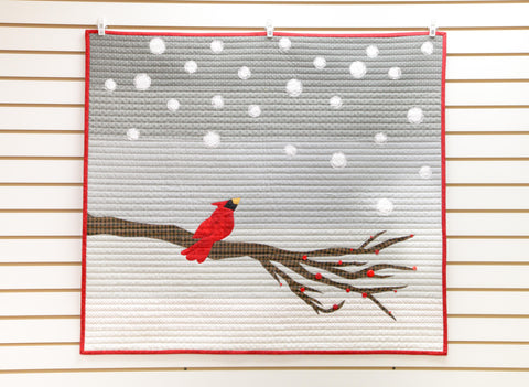 Snowfall Christmas Quilt Pattern