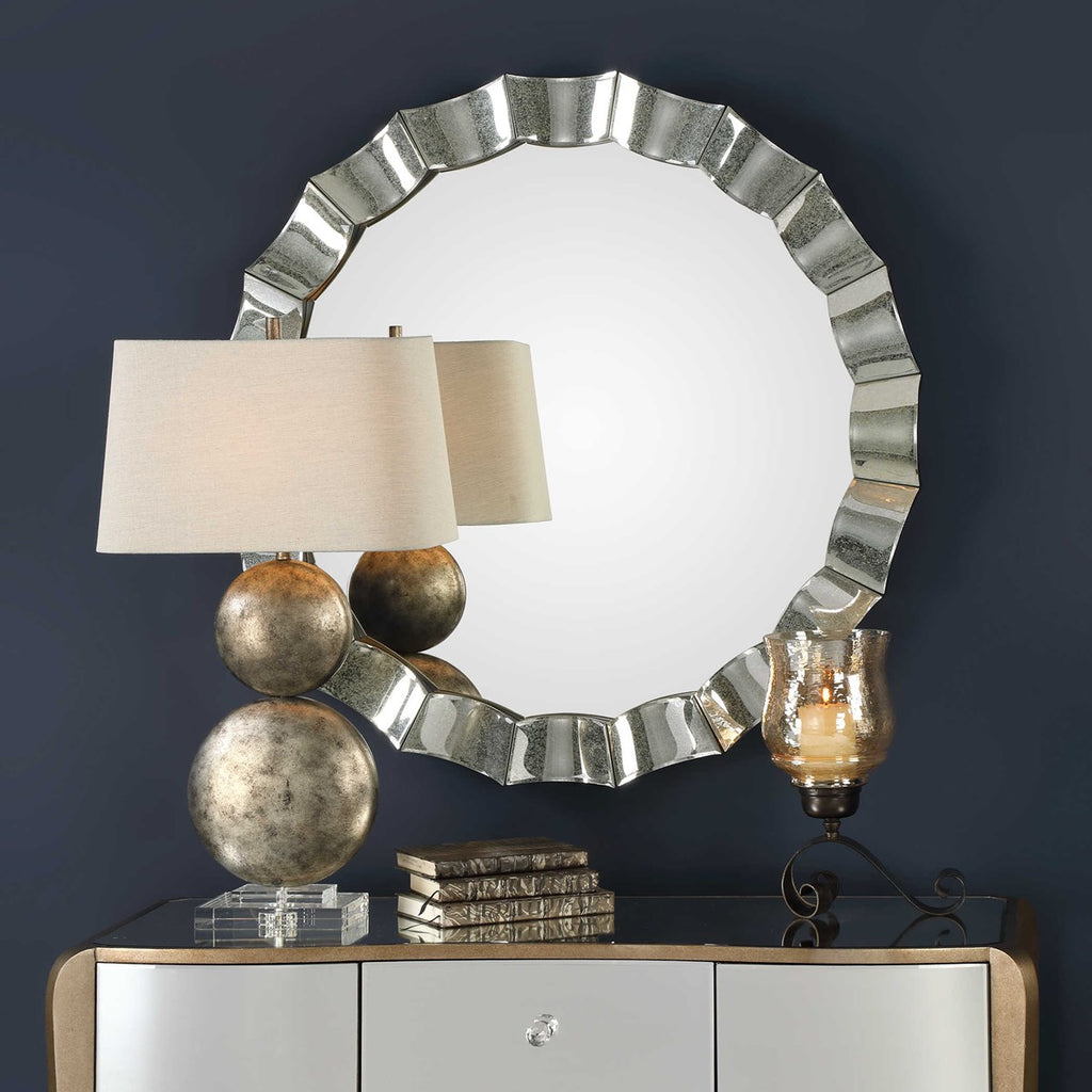 Sabino Scalloped Mirror