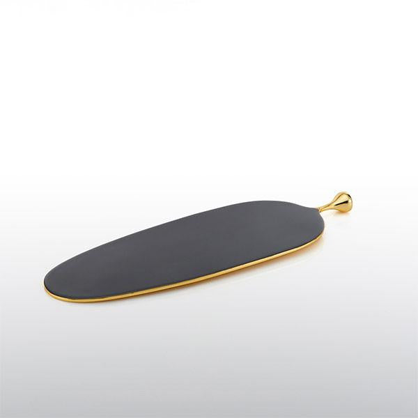 Long Pod Cheese Paddle Graphite