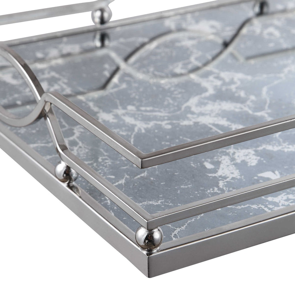Genie Mirrored Tray