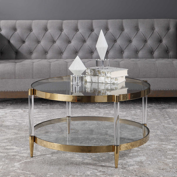 Deco Glass Coffee Table